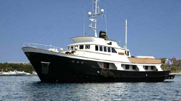 Custom Kristiansands Expedition Yacht Conversion