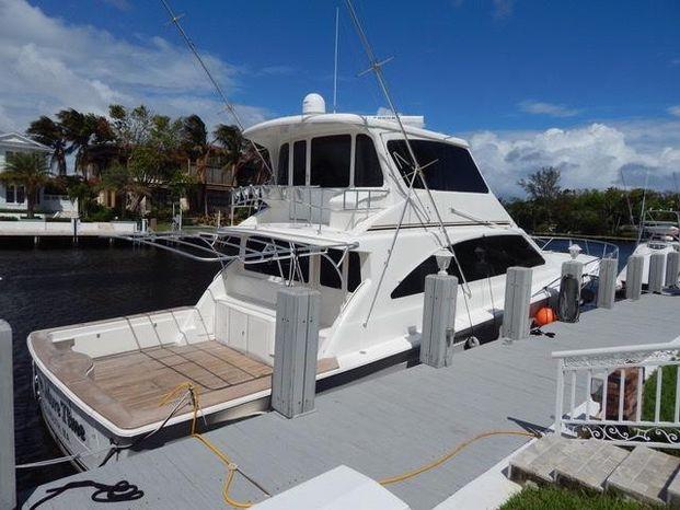 2001 Ocean Yachts 70 Enclosed Bridge