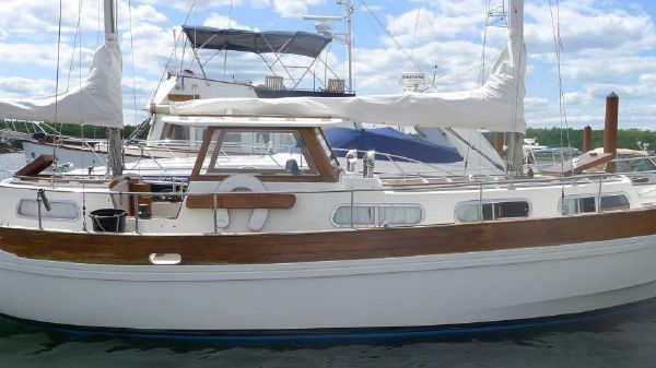 Coaster 33 Pilothouse Motorsailer Double Ended Ketch