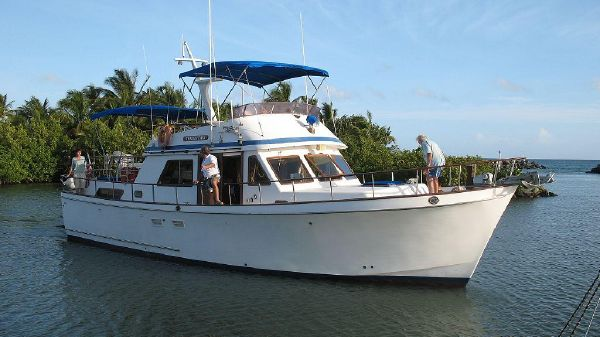 CHB Chung Hwa Double Cabin Motor Yacht 45