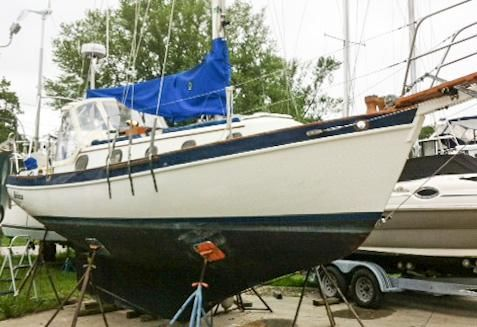 Pacific Seacraft/ Orion- Mk-II 3cyl Yanmar/ lo-hrs; UPGRADES! image