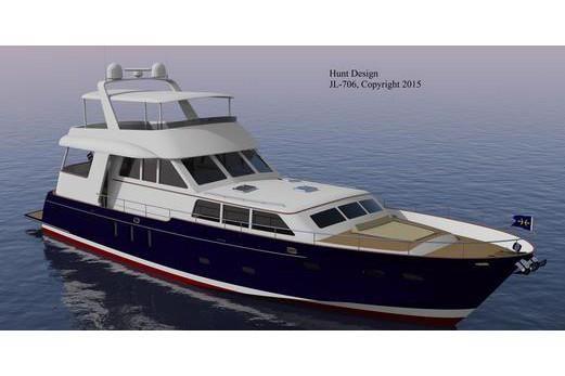 2019 Heritage Yachts Newport 78 Cruiser