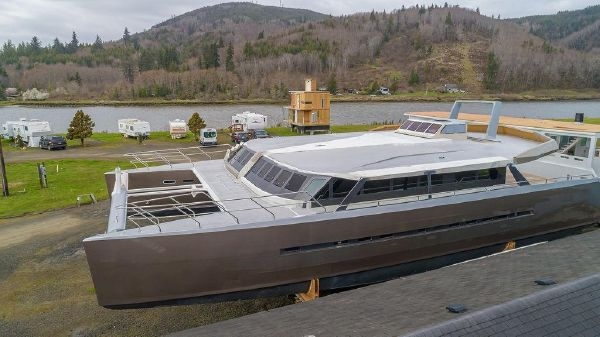 Catamaran Bloomfield 86 Motorsailor