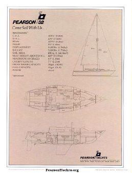 Pearson 32 image