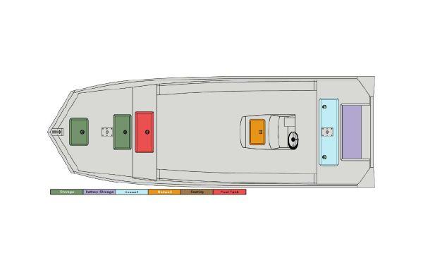 2021 SeaArk RiverCat 2060 CC