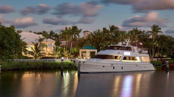 President Custom 750 Enclosed Bridge 77' President Motor Yacht Enclosed Bridge ADIOS
