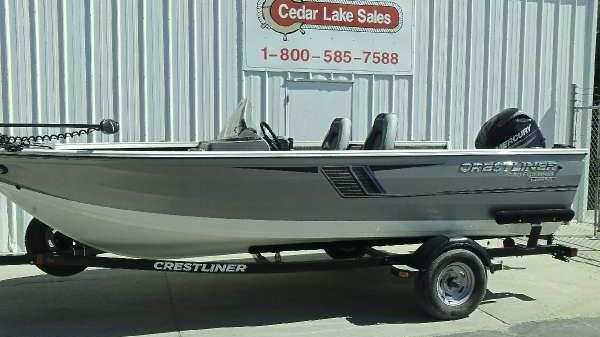 Crestliner 1650 Fish Hawk SC