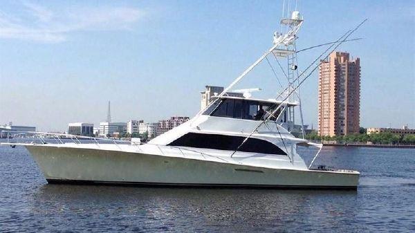 Ocean Yachts Enclosed Flybridge SS