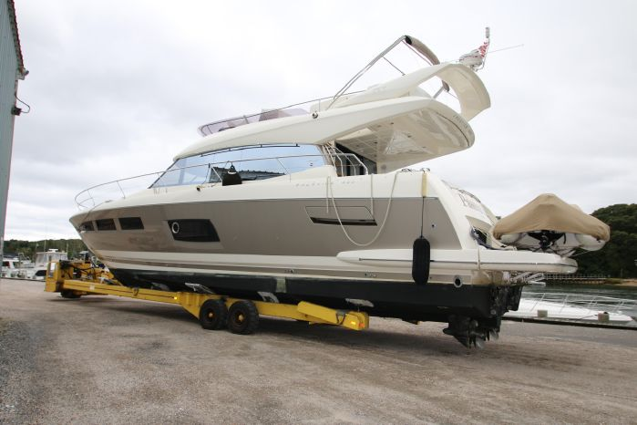 2014 Prestige Yachts 550 BoatsalesListing New England