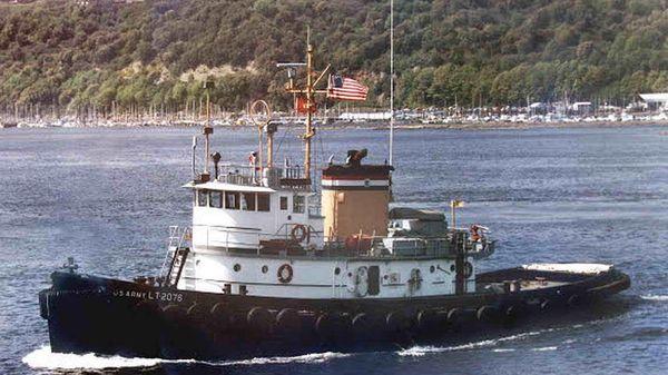 Tug Boat National Steel