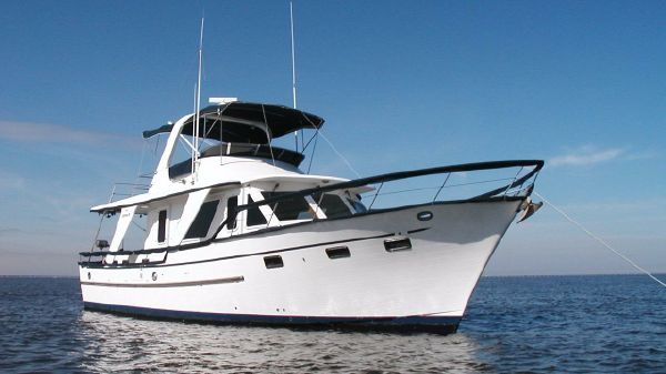 DeFever 48 Trawler Stb Profile