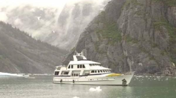Bergen / Feadship Steel Pilothouse At Anchor in the Fjords