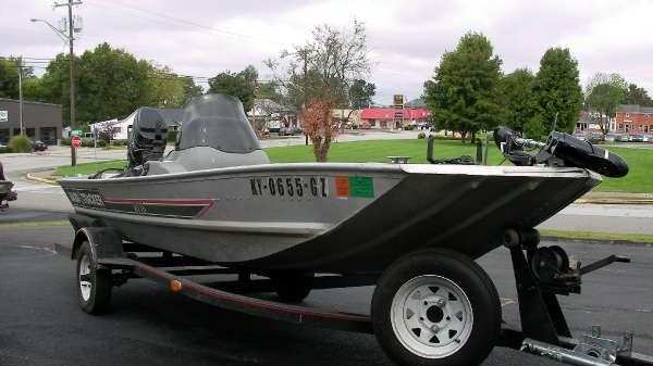 Bass Tracker 1987 Bass Tracker MV 16