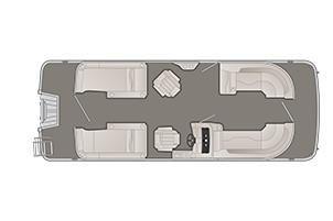 Bennington SX 24 Premium Stern Lounge image