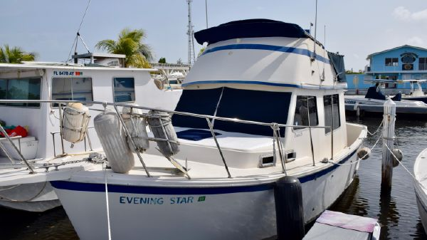Prairie Boat Works Coastal Cruiser 29