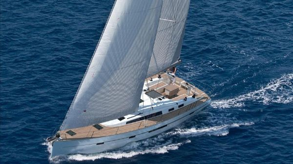 Bavaria Cruiser 56 Manufacturer Provided Image: Bavaria Cruiser 56 Sailing