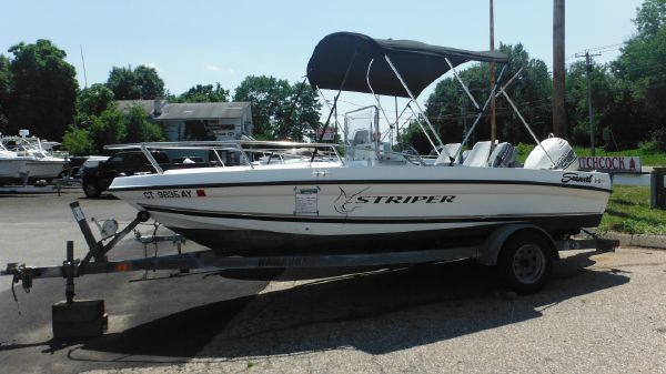 Seaswirl 1730 CC Striper