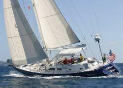 Hylas Cutter Wakaya Under Sail