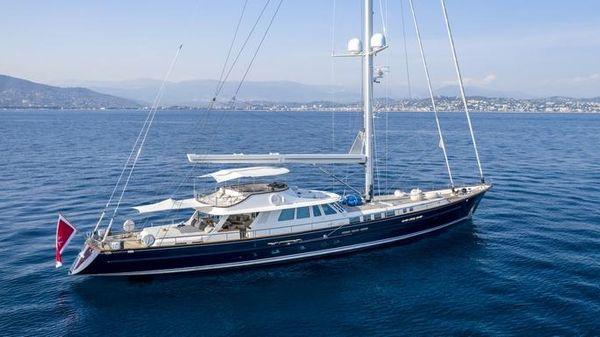 Custom Aluminum Sailing Yacht