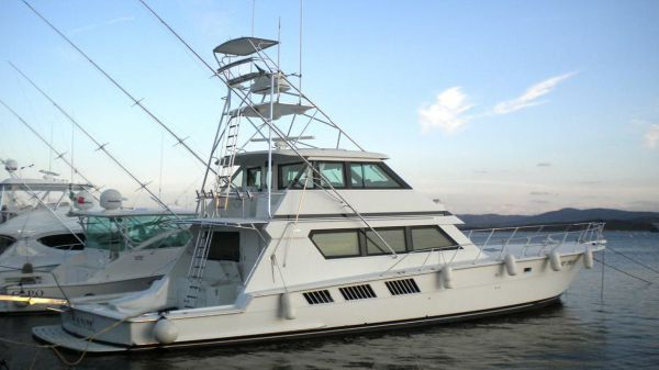 Hatteras 65 Convertible At SNO's yard