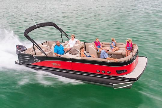 2019 Tahoe Pontoon Cascade Cruise Elite - 23'