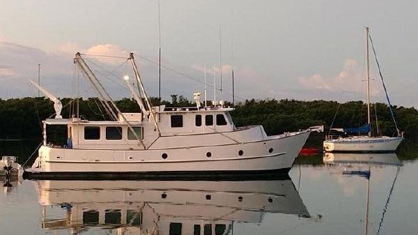 Custom A.E. Hingle Long Range STEEL Trawler