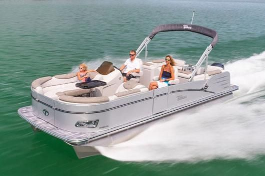 2019 Tahoe Pontoon Cascade Quad Lounge - 25'