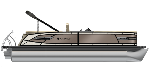 AquaPatio 255 ULC NEW MODEL from Godfrey Marine image