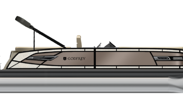 AquaPatio 255 ULC NEW MODEL from Godfrey Marine