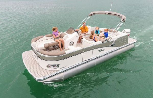 2019 Tahoe Pontoon Cascade Rear J Lounge - 23'