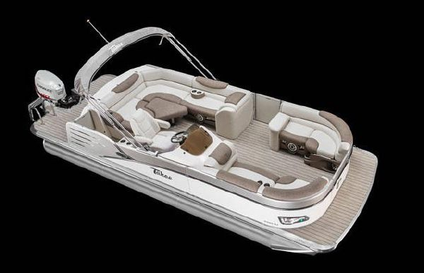 2019 Tahoe Pontoon Cascade Rear J Lounge - 25'