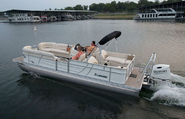 2021 Landau Island Breeze 252 Cruise Split Rear Lounge