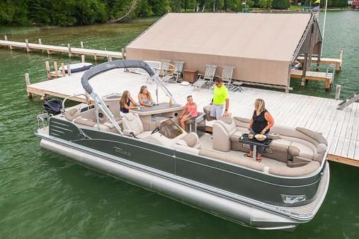 2019 Tahoe Pontoon Cascade Entertainer - 25'