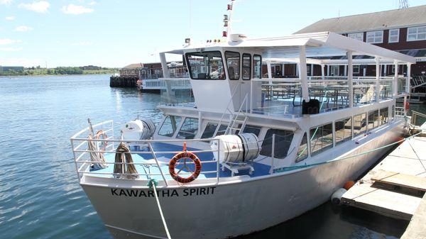 Ferry Double Deck Passenger Vessel