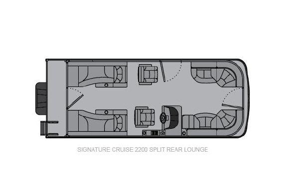 2021 Landau Signature 2200 Split Rear Lounge