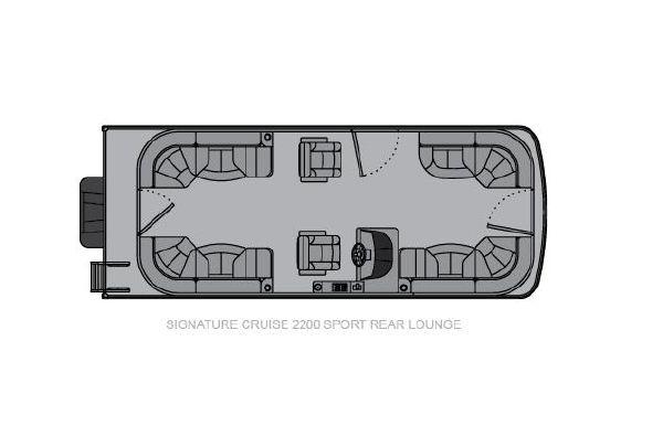 2021 Landau Signature 2200 Sport Rear Lounge