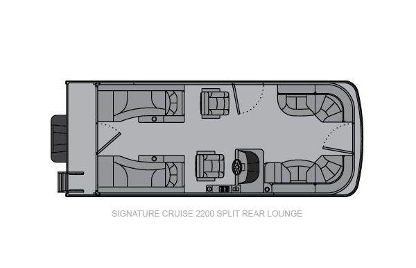 2021 Landau Signature 2300 Split Rear Lounge
