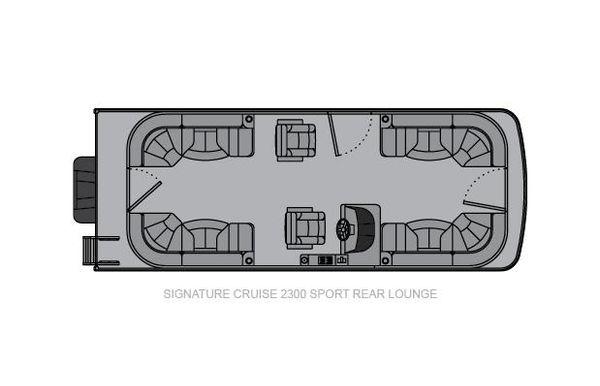 2021 Landau Signature 2300 Sport Rear Lounge