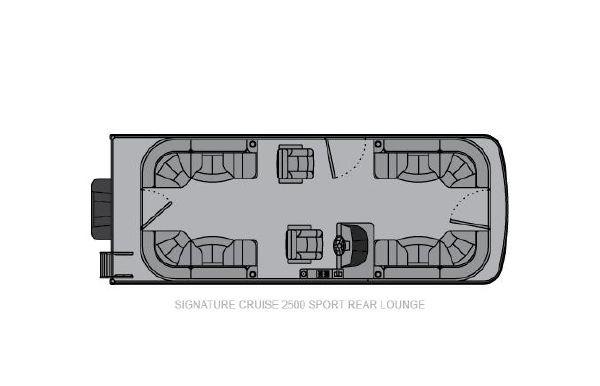 2021 Landau Signature 2500 Sport Rear Lounge
