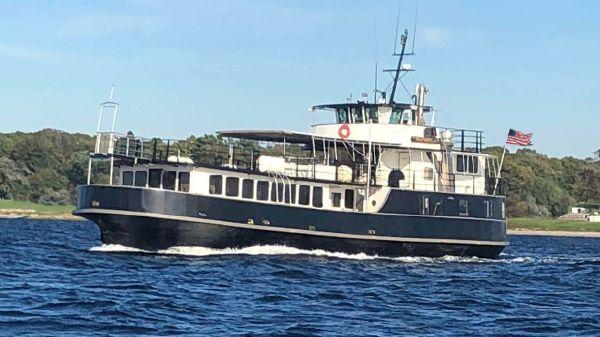 Custom Car Passenger Ferry Conversion to Excursion Dinner Vessel
