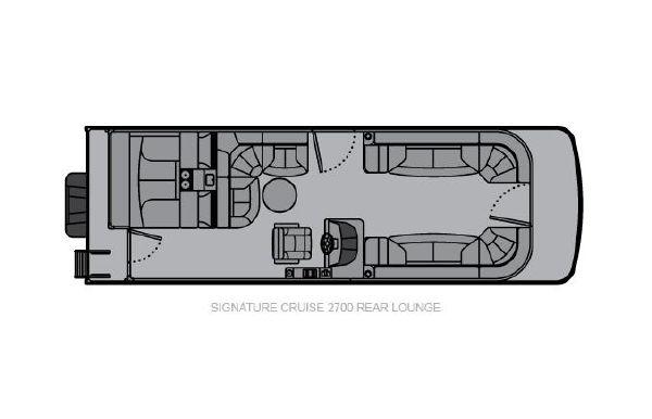 2021 Landau Signature 2700 Rear Lounge