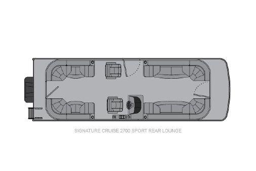 Landau Signature 2700 Sport Rear Lounge image