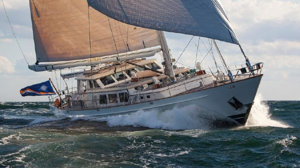 Palmer Johnson Custom Offshore Ketch