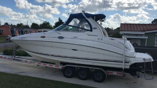 Sea Ray Sundancer Re-Conditioned 2015