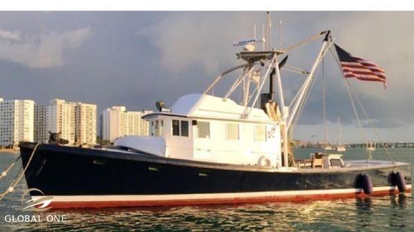 Jarvis Newman 46 Pilot House Trawler - main image