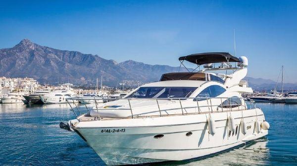 Astondoa 59 GLX In Port
