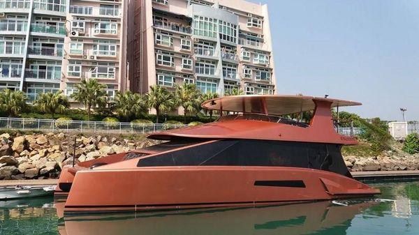 Custom Hybrid EC 50 Catamaran
