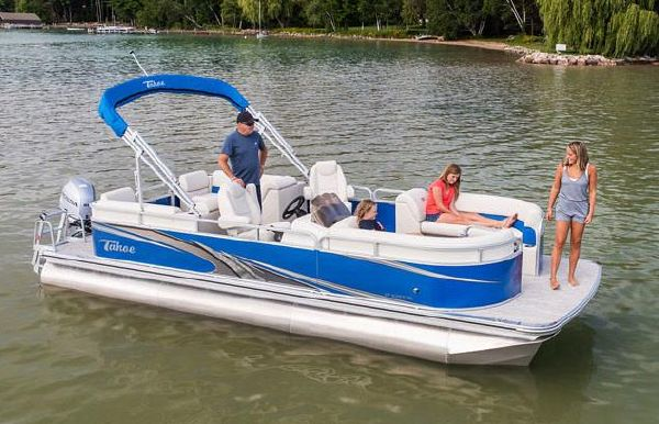 2019 Tahoe Pontoon GT Quad Lounge - 23'
