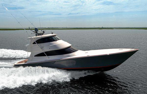 2022 Viking 68 Enclosed Bridge