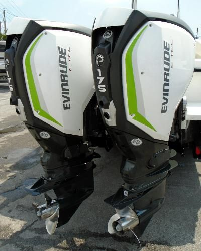 2017 Evinrude E-TEC G2 175hp 25in Shaft, DI, Demo Motors w